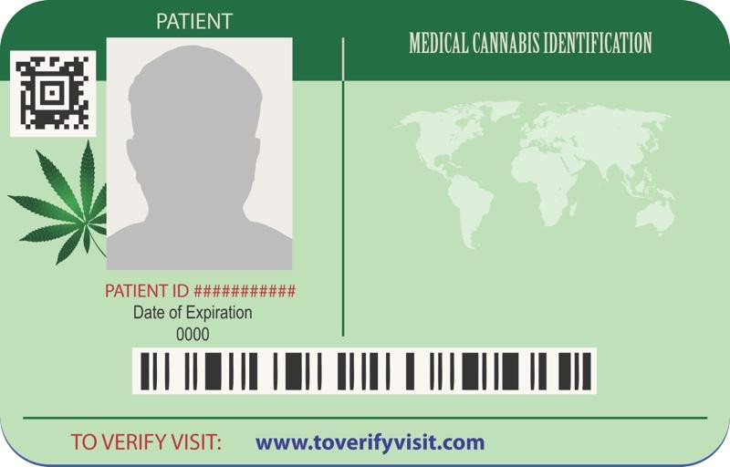Medical Cannabis Patient Card