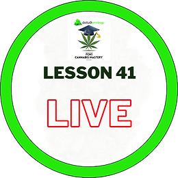 FCM1 Lesson 41 LIVE - 17/11/20