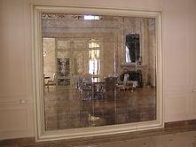 Зеркальная плитка из состаренного зеркала