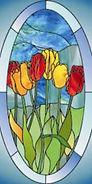 Витраж в окно,каталог витражей _0094