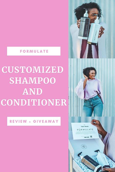 Formulate Customized Shampoo and Conditi