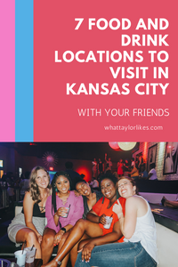 7 Food and Drink Locations to Visit in Kansas City with Your Friends