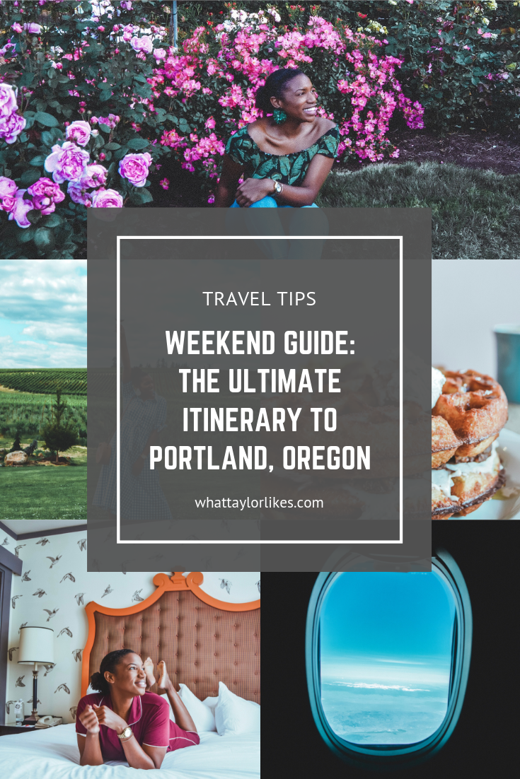 Weekend Guide: The Ultimate Itinerary to Portland, Oregon