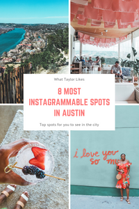 7 Most Instagrammable Spots in Austin, Texas