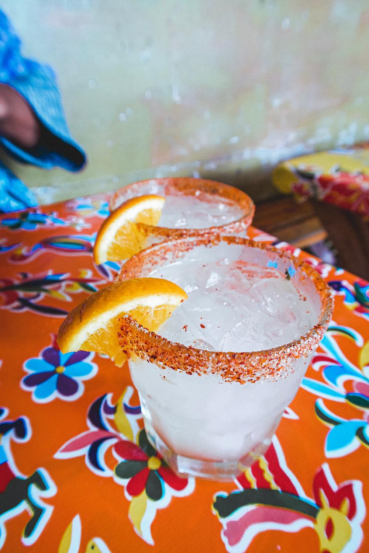 Mezcal Margarita at Por Que No