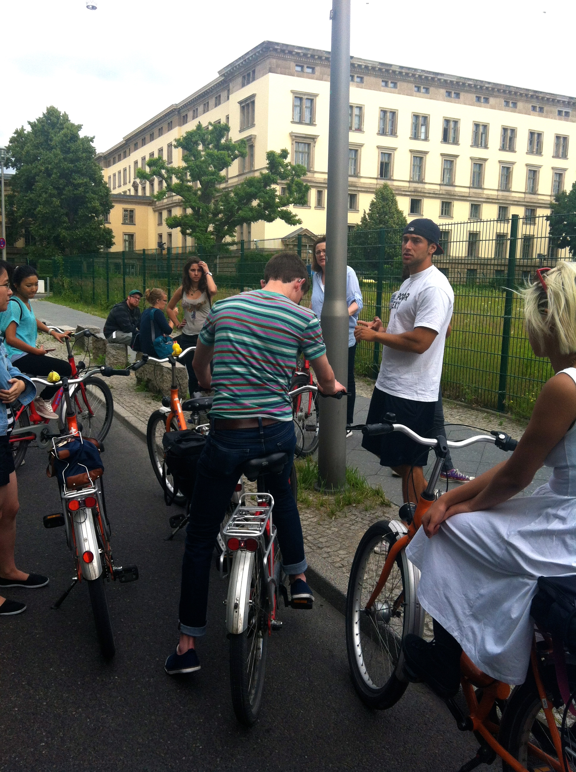 Bike Tour Guide and Class