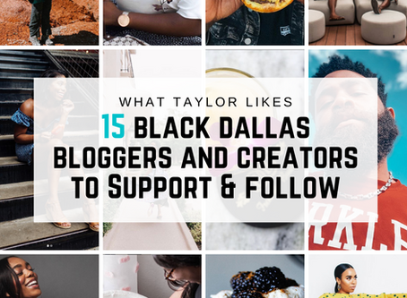 15 Black Dallas Bloggers and Creators to Support and Follow