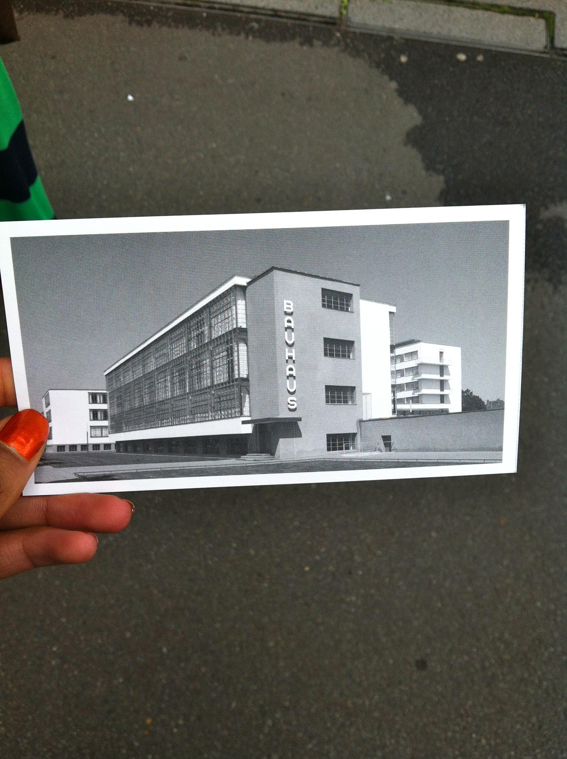 BauHaus Postcard