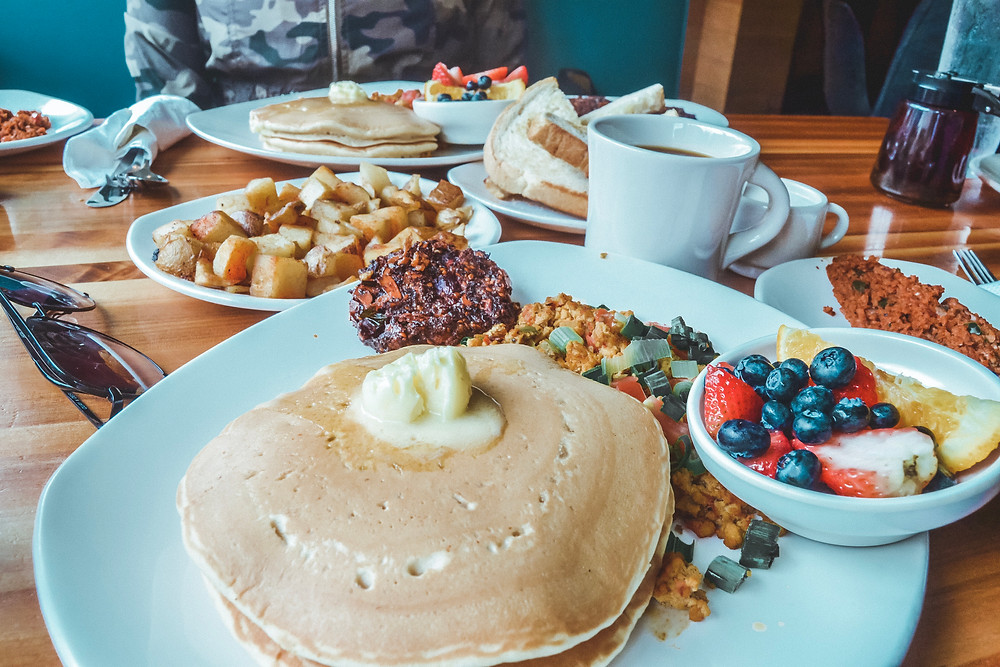 Vegan Breakfast at Kerby Lane Cafe