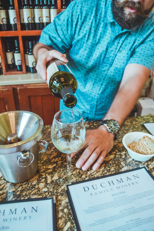 Duchman Family Winery Tasting