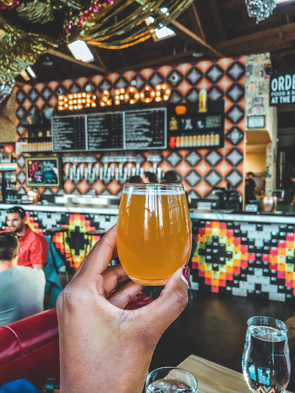 Fortunate Islands Beer at Modern Times Belmont Fermentorium in Portland Oregon