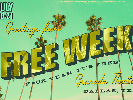 Giveaway - Welcome to Free Week at The Granada Theater