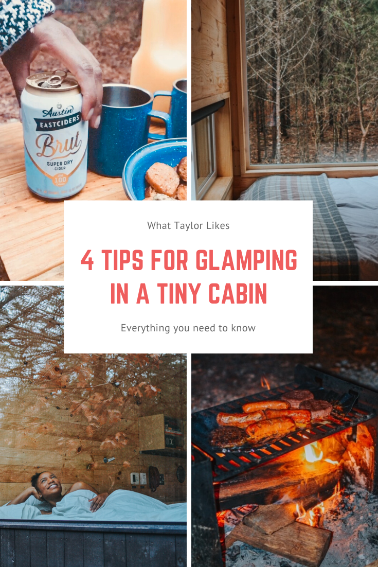 4 Tips for Glamping at Getaway's Tiny Cabin -What Taylor Likes