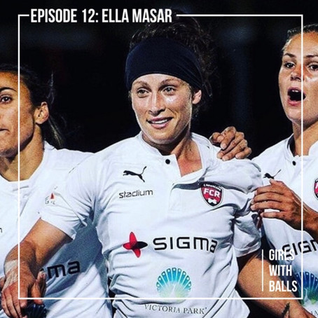 Ella chats with Ali Riley on 'Girls with Balls'