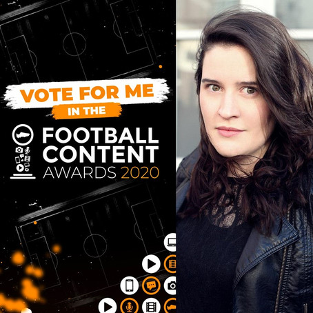 Helen Hardy nominated for Football Content Award