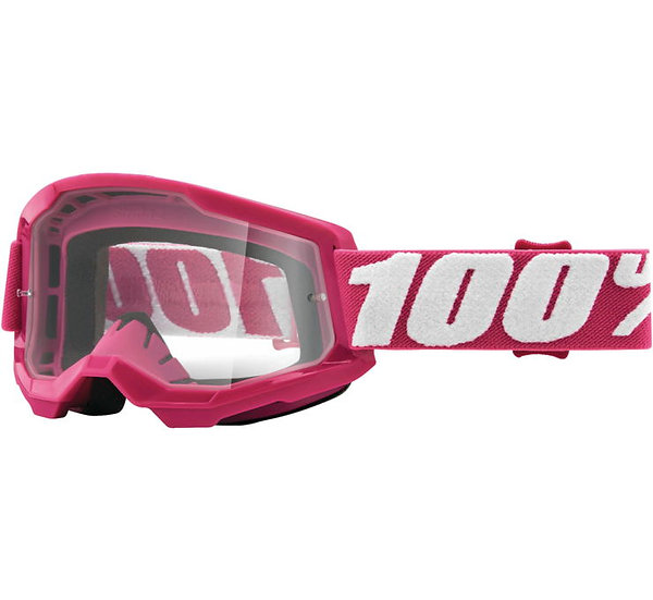 100% Strata 2 Goggles Fletcher with Clear Lens