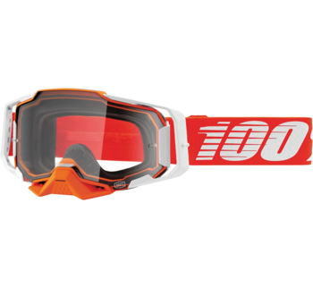 100% Armega Goggles Regal with Clear Lens