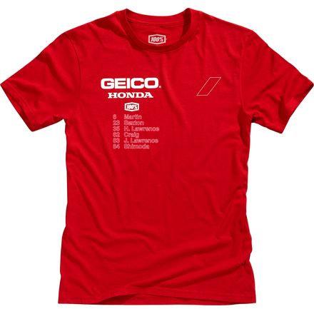 100% Geico Honda Outlier T-Shirt
