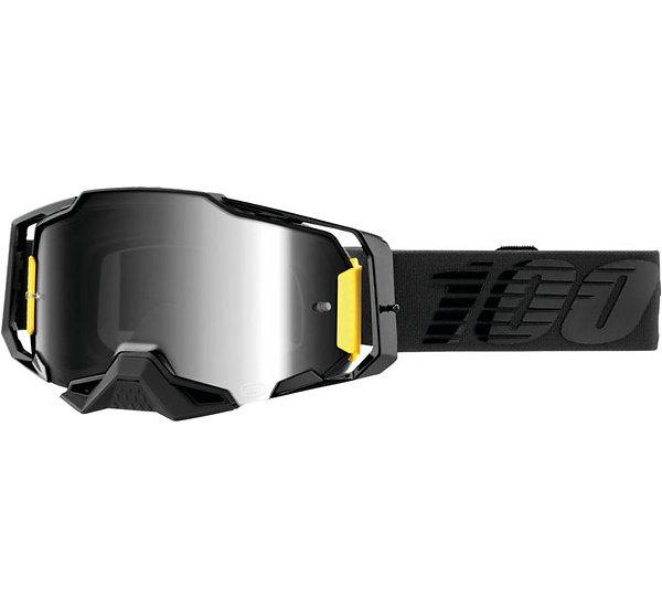 100% Armega Goggles Nightfall with Clear Lens