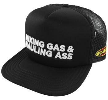 FMF Men's Gass Hat Black, One Size