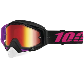 100% Racecraft Snow Goggles Haribo 2 with Red Vented Lens