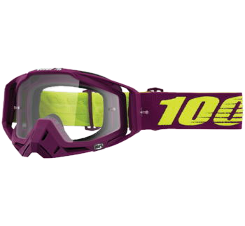 100% Racecraft Goggles Klepto with Clear Lens