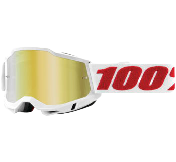 100% Accuri 2 Goggles Denver with True Gold Lens