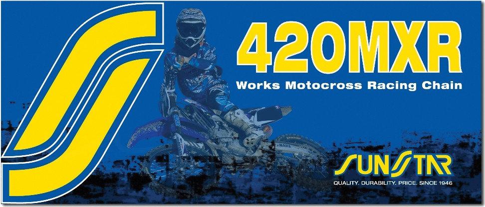SUNSTAR MXR WORKS CHAIN 420X126