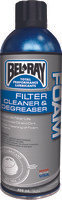 BEL-RAY FOAM FILTER CLEANER AND DEGREASER 400ML