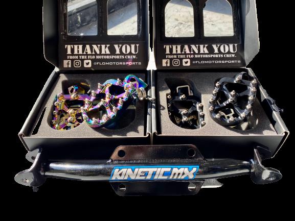 Kinetic MX Peg Mount KLX110/CRF110
