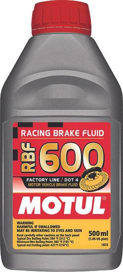 MOTUL RBF 600 RACING BRAKE FLUID 500ML