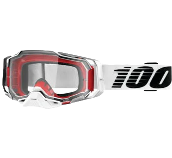 100% Armega Goggles Lightsaber with Clear Lens
