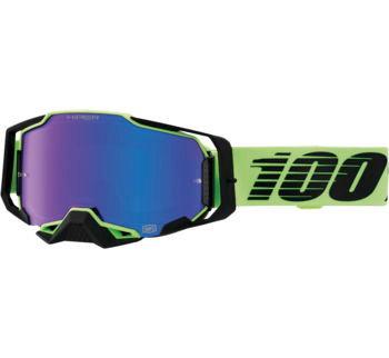 100% Armega Goggles Uruma with HiPER Blue Lens