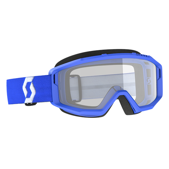 SCOTT PRIMAL GOGGLE BLUE CLEAR LENS