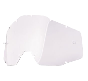 100% Replacement Lenses Clear, Anti-Fog