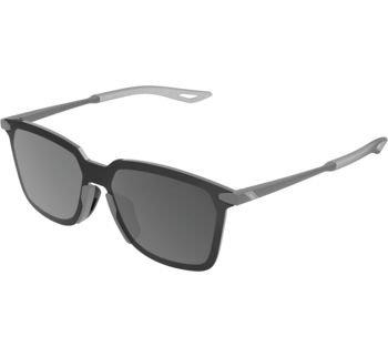 100% Legere UltraCarbon Square Sunglasses Matte Metallic Viperidae with Bronze L