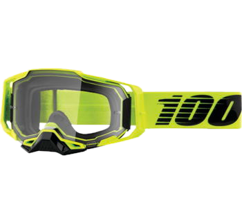 100% Armega Goggles Nuclear Circus with Clear Lens