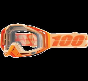 100% Racecraft Goggles Sahara with Clear Lens