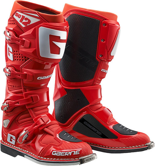 GAERNE SG-12 BOOTS SOLID RED SZ 10