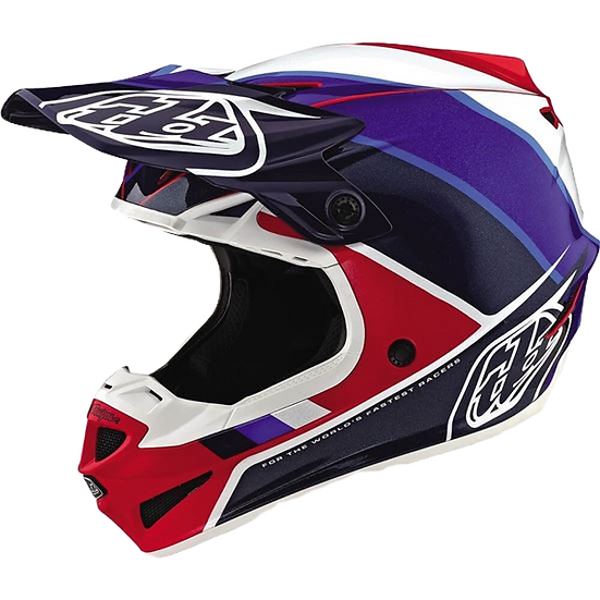 Troy Lee Designs 2019 SE4 Polyacrylite Helmet With MIPS - Beta SMALL