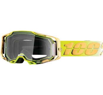 100% Armega Goggles Feelgood with Clear Lens