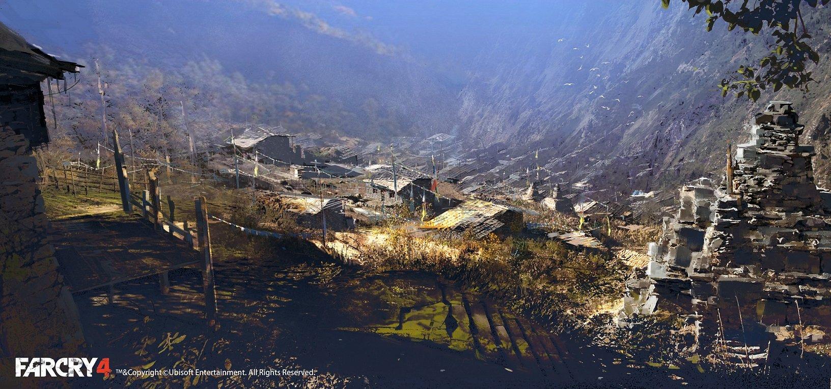village shot