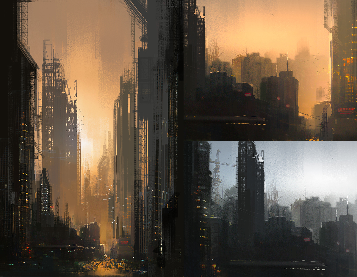 Speed Painting Demo: Cityscape