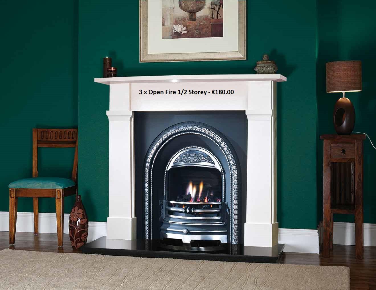 Chimney Sweep Open Fire 1/2 Storey x 3