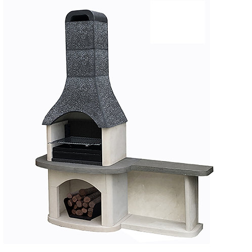 Woodford Masonry Sorrento Barbecue with Side Table
