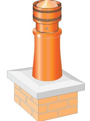 Static chimney cowl