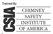Trained by Chimney Safety Institute of A