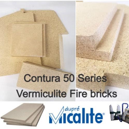 Contura 50 Series Vermiculite Fire bricks