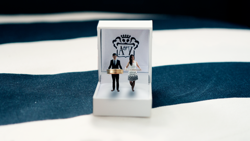 Miniature Photography | Adriel and Yvonne