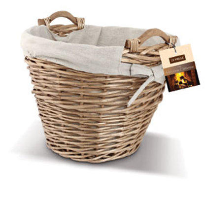 Fuel Storage Basket for fire or stove- Ideal to store logs, turf, briquettes